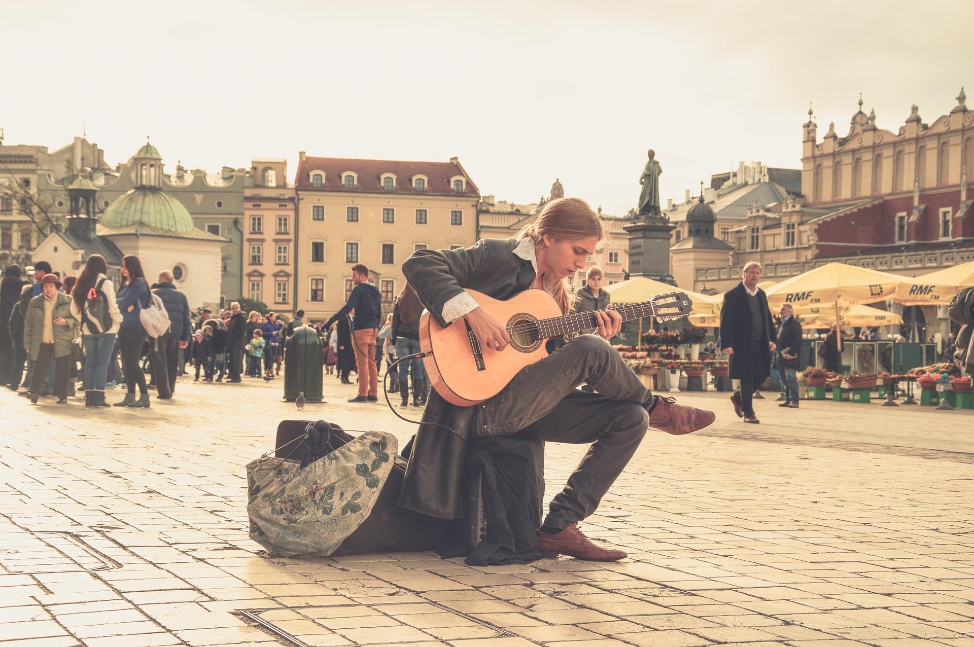 Cracovia, arte callejero