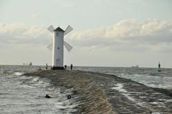 faro, Mar Báltico, Polonia