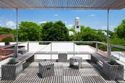 Roof deck east
