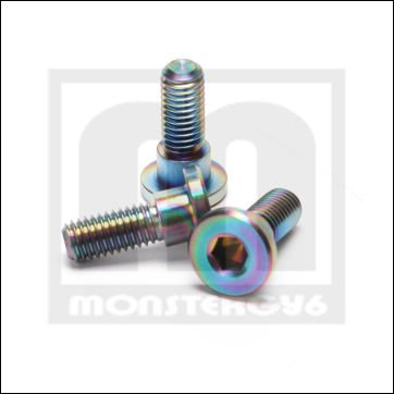 NCY Stainless rotor Bolts (3)