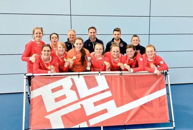 EUWAFC Win BUCS Futsal Cup