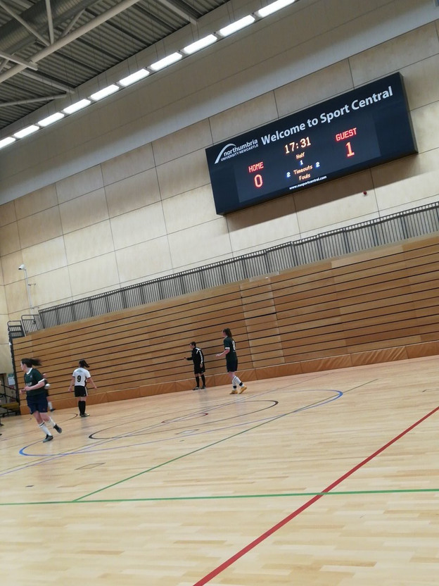 Futsal 1st Team Battle Hard in BUCS Trophy Last 16