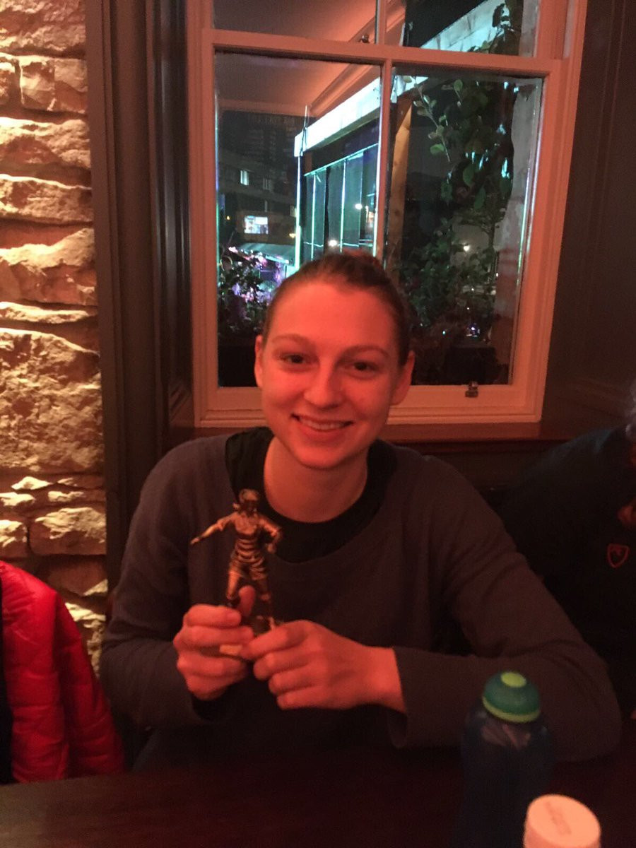 Player of the match Sophie Boeckh