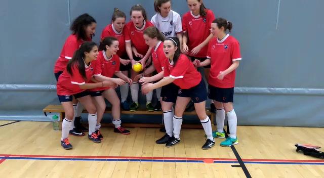 Futsal 2s Win the League!!!!