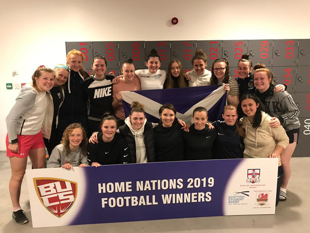 EUWAFC the Best Represented University at Scottish Student Sport