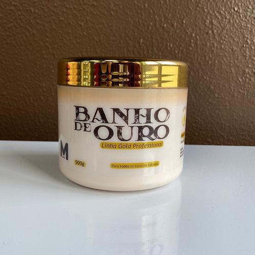 Mascara Banho de Ouro 500g