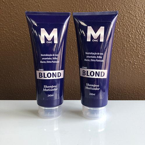 Shampoo e Condicionador Matizador CHIC BLOND 240g
