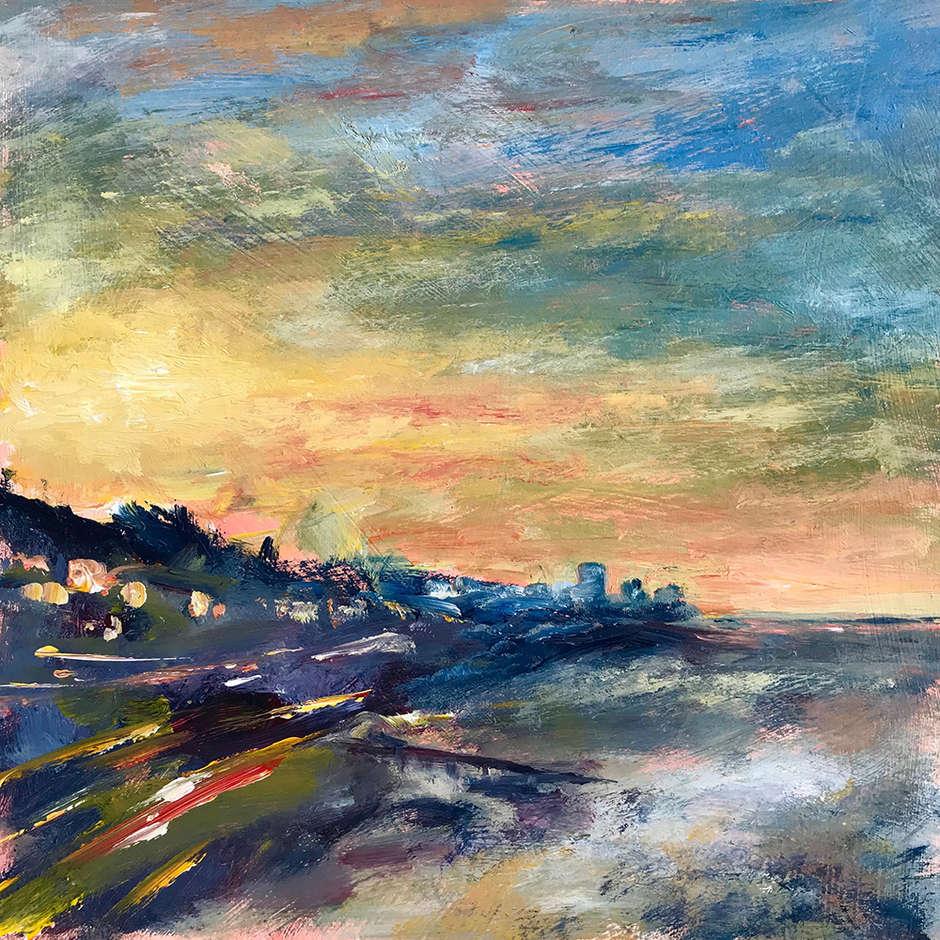 Sunrise from Gypsy Bridge, Sharon Henson