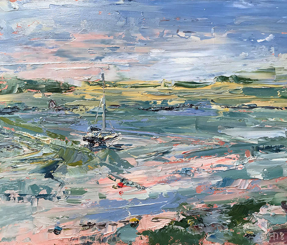 Running Tide at Leigh Creek, Sharon Henson