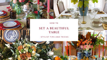 Stylist Tips for Setting a Beautiful Table