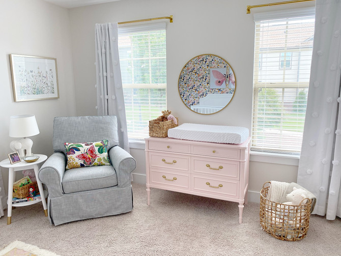 A Sweet Nursery with a Fun Reveal