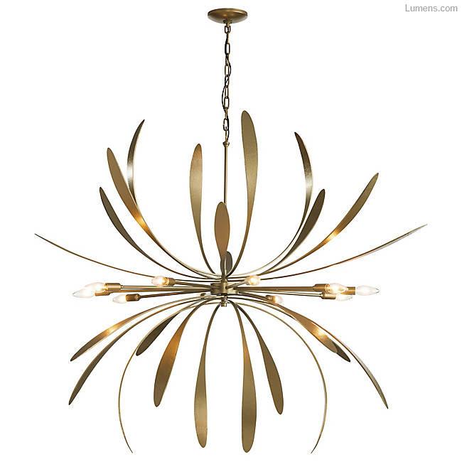 Hubbardton Forge Dahlia chandelier