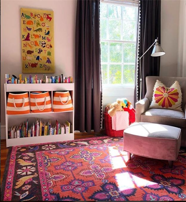 eclectic and fun girls bedroom