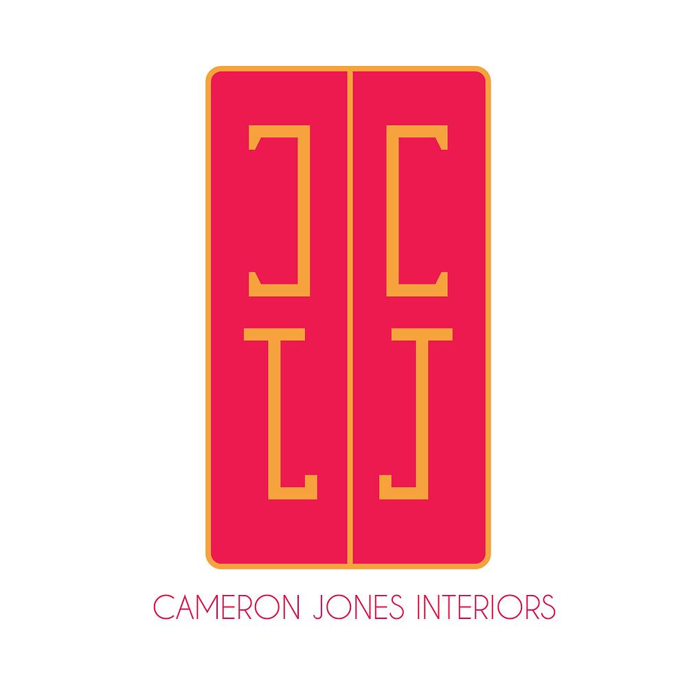 Cameron Jones Interiors Logo by Olivia Stocks of Prim Media Group