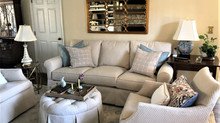 Completed Design: Family Room on a Budget