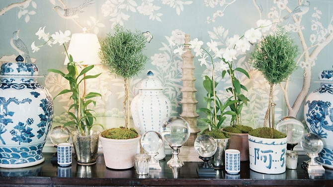 Chinoiserie: the one that got away and my own OKL design challenge