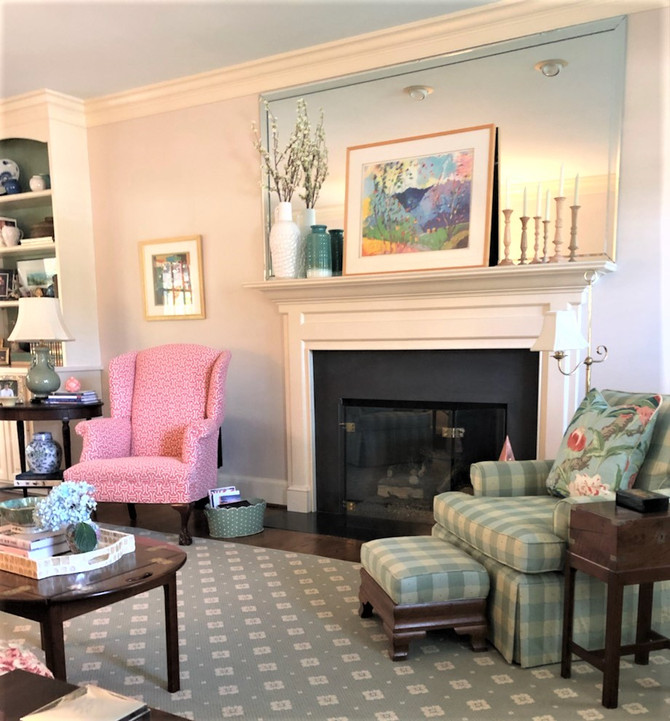 Traditional with a Twist: A Client Living Room Refresh
