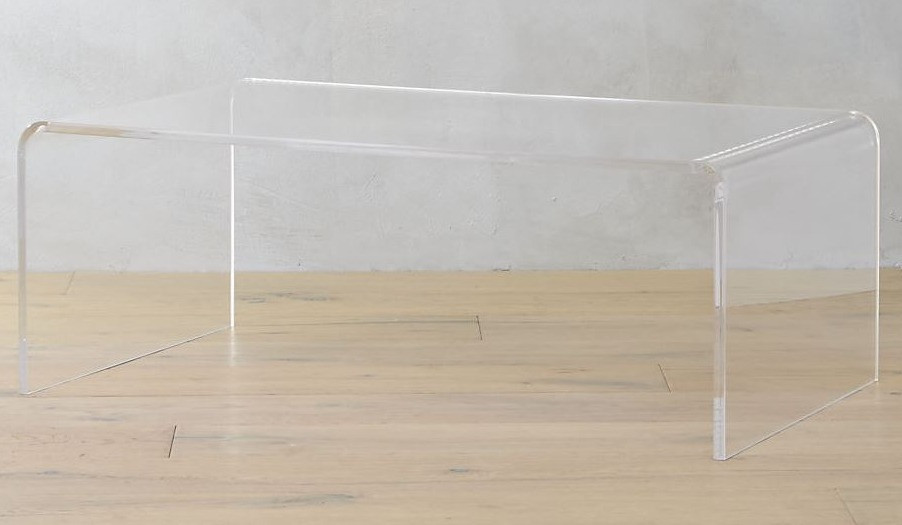 affordable acrylic coffee table timeless style