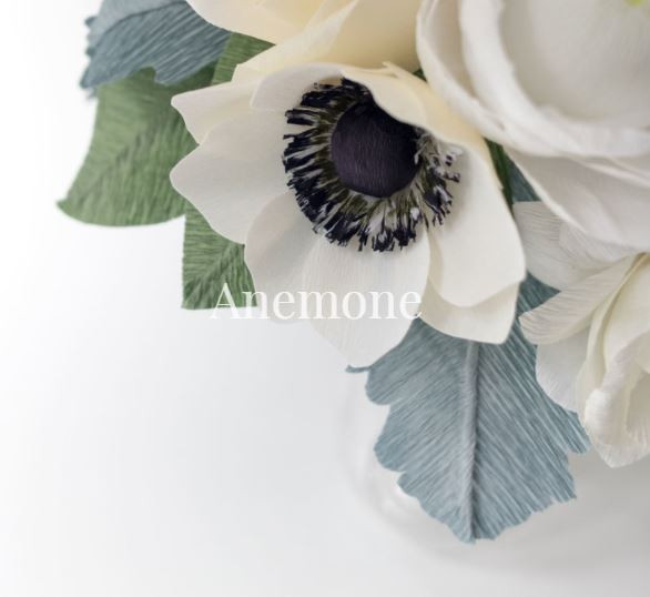 paper flowers paper anemones