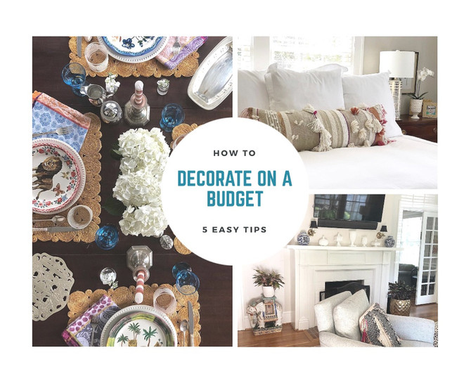 5 Tips for Decorating on a Budget