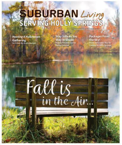 Suburban Living Magazine Cover