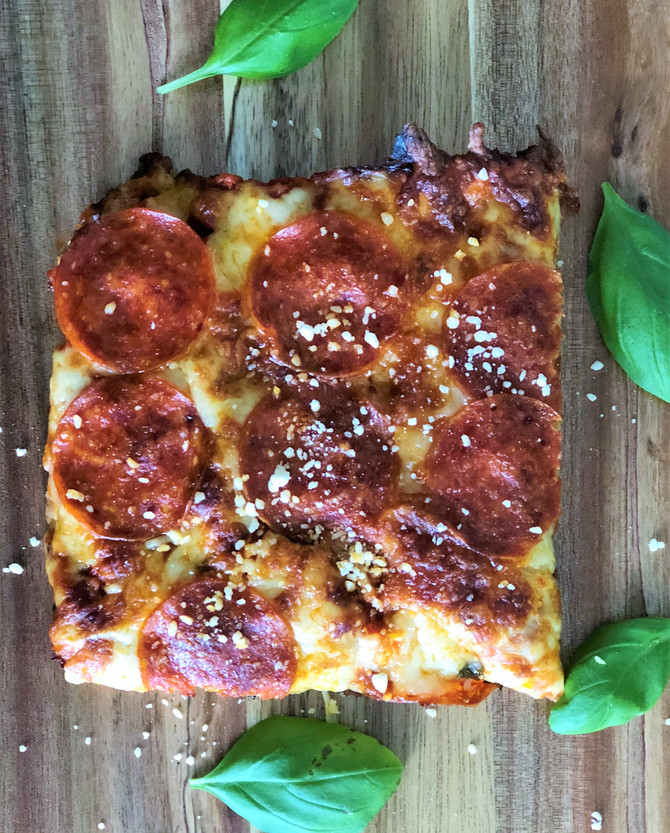 Delicious Low-Carb Pizza - Say What?!
