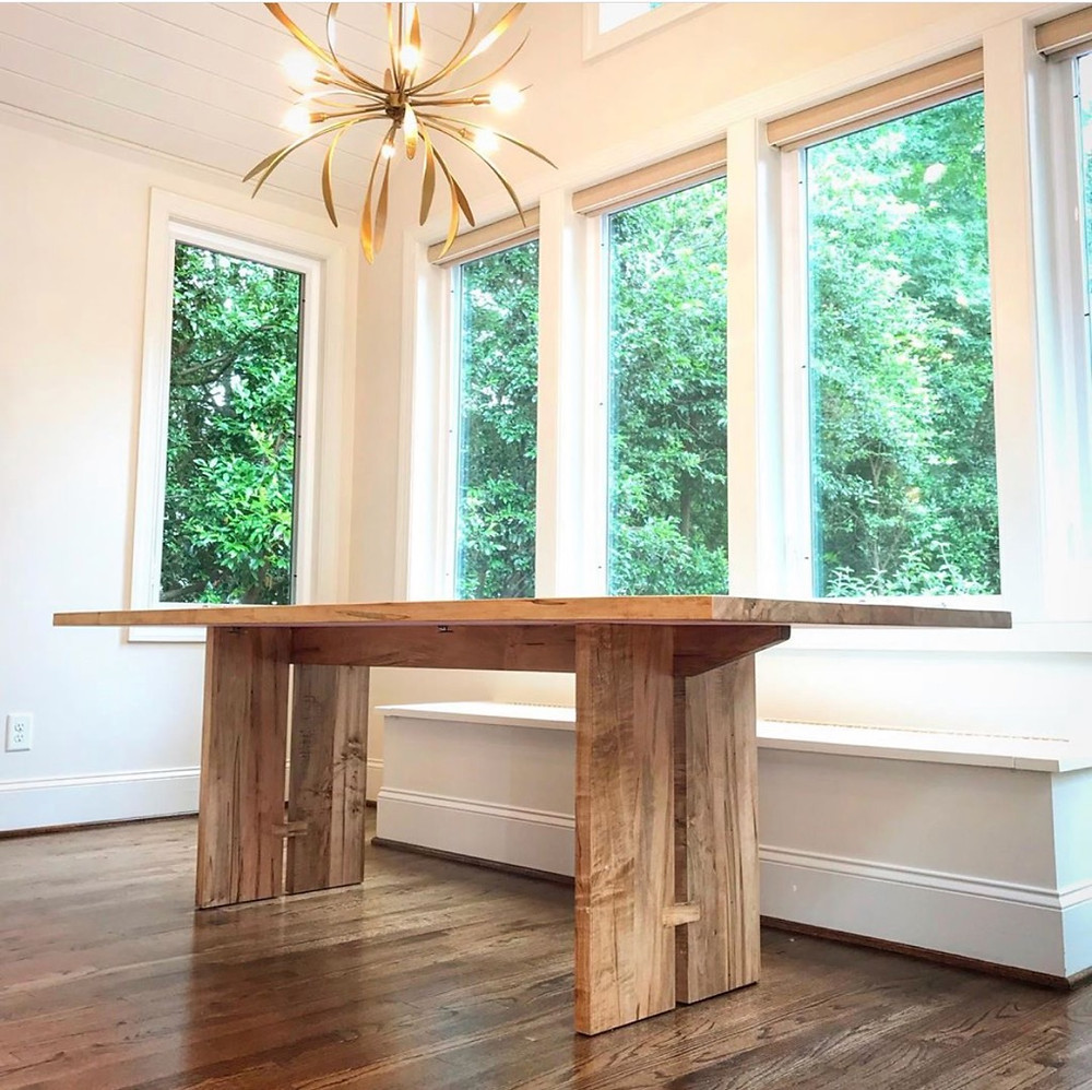 custom table by Duvall and Company