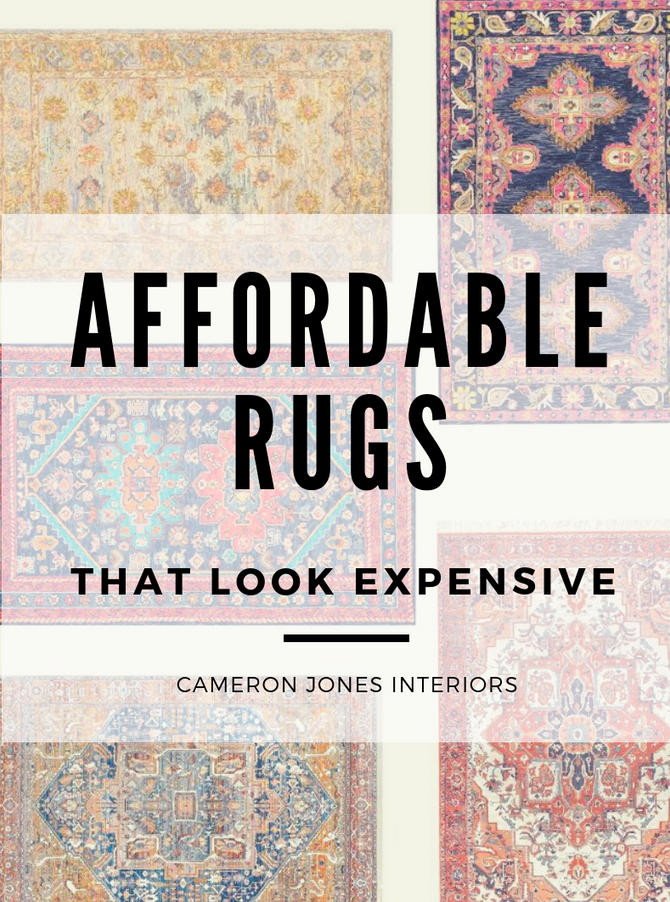 5 Affordable Rugs that Look Expensive