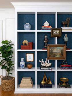 bookshelves grasscloth oct 2020