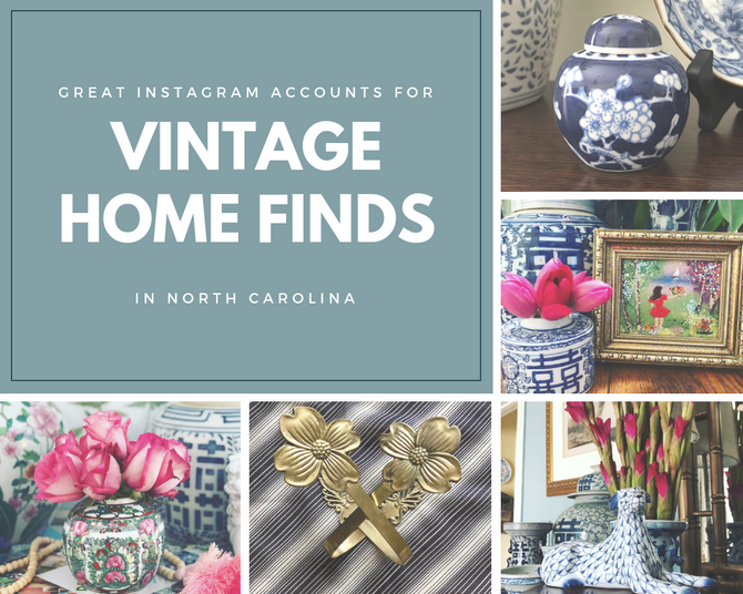 Some Favorite Instagram Accounts for Shopping Vintage Home Accessories