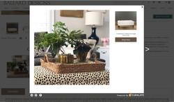 ballard ottoman on website