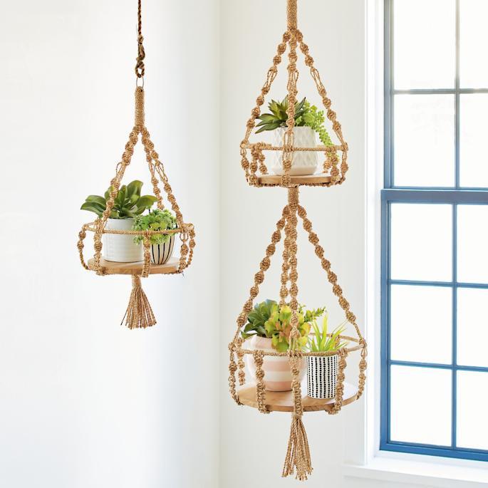 Boho plant hangers