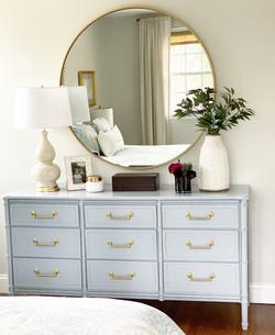 Beth's dresser and bedroom