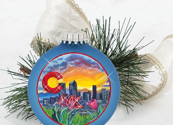 Denver Skyline Alpine Blue