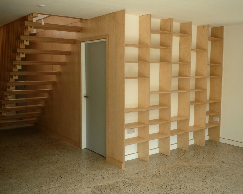 Integrated Bookcase