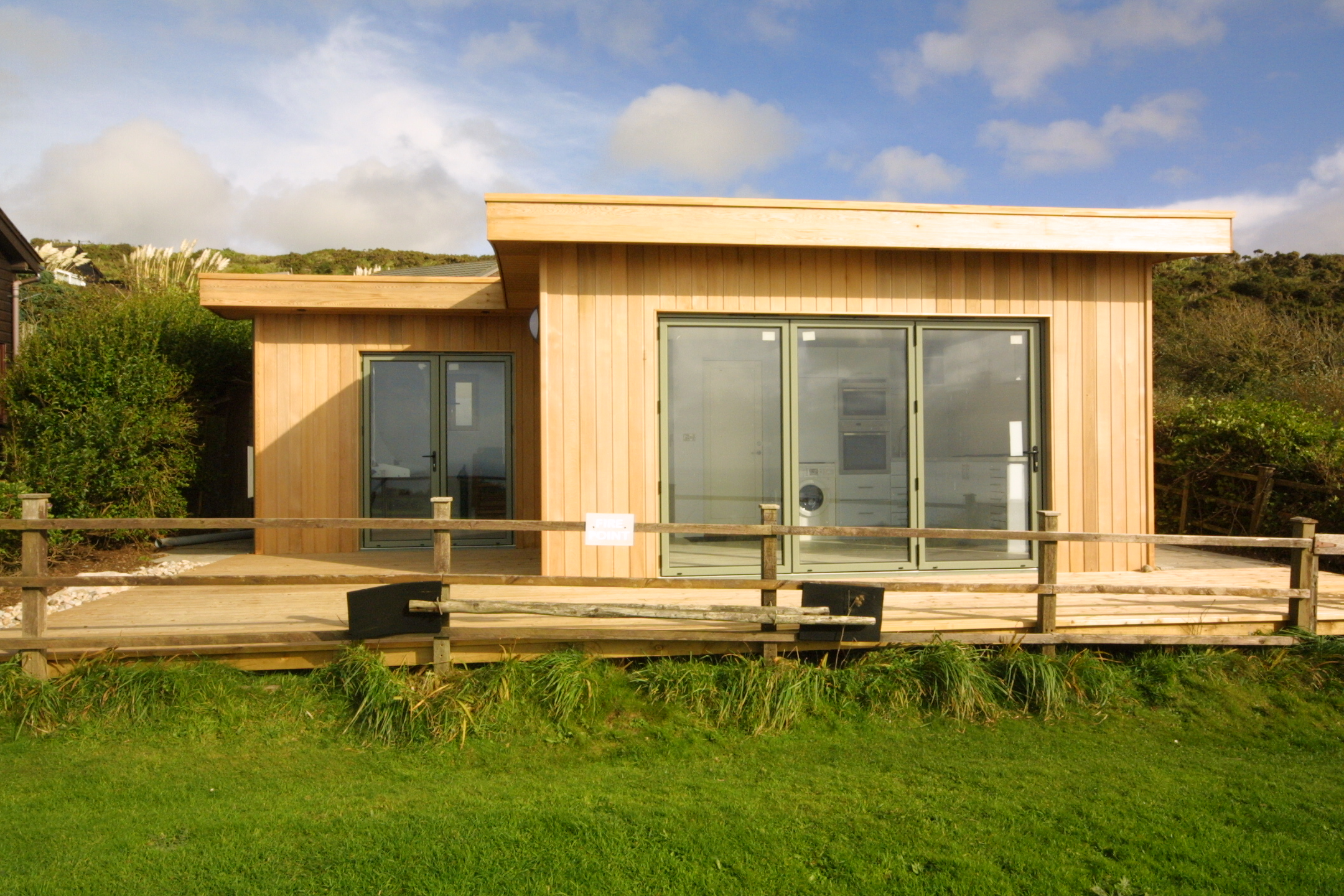 Eco Holiday Chalet Architects Cornwall Arco2