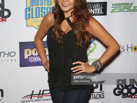 Maria Ho attends the One Step Closer Celebrity Charity Poker Tournament