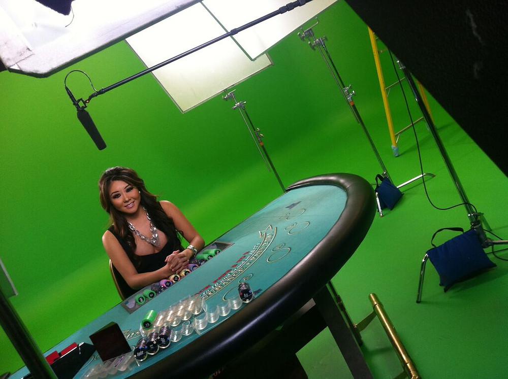Poker Host Maria Ho
