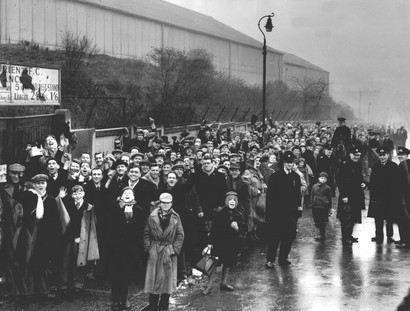 Leyton Orient Fans Queue For A Game Against Arsenal in 1952