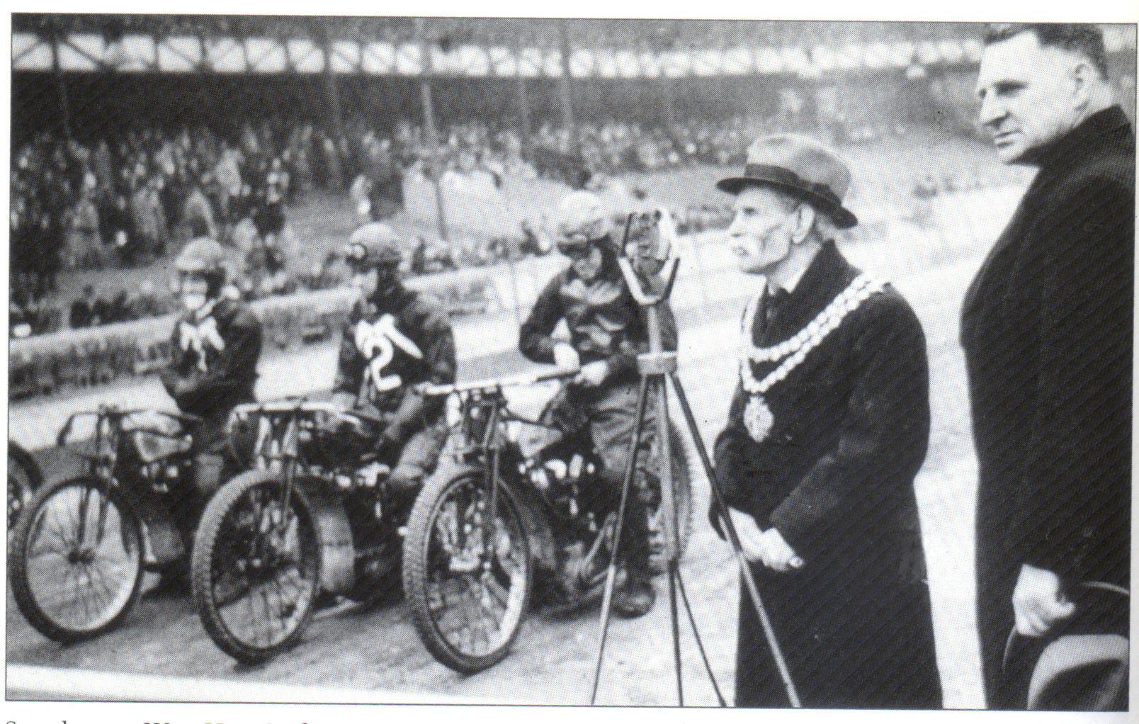Speedway At The West Ham Stadium, c.1940