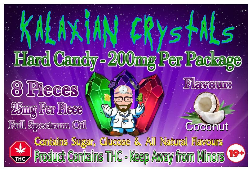 Coconut Kalaxian Crystals Hard Candy