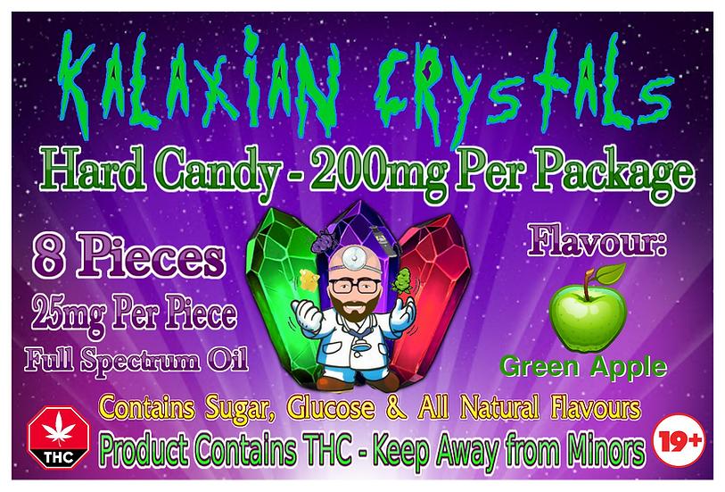 Green Apple Kalaxian Crystals Hard Candy