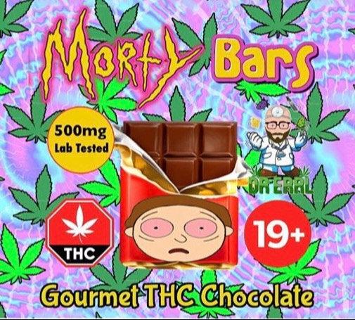 Morty Milk Chocolate Bars