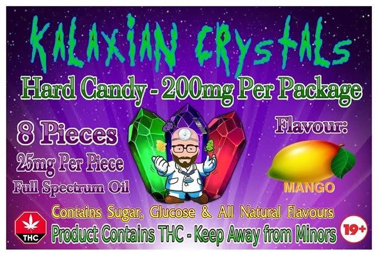 Mango Kalaxian Crystals Hard Candy