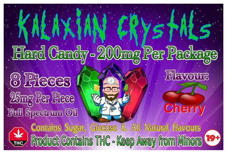Cherry Kalaxian Crystals Hard Candy
