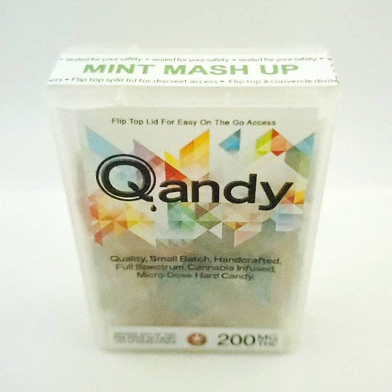 Qandy 200mg THC Mint Mash Up