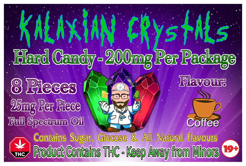 Coffee Kalaxian Crystals Hard Candy
