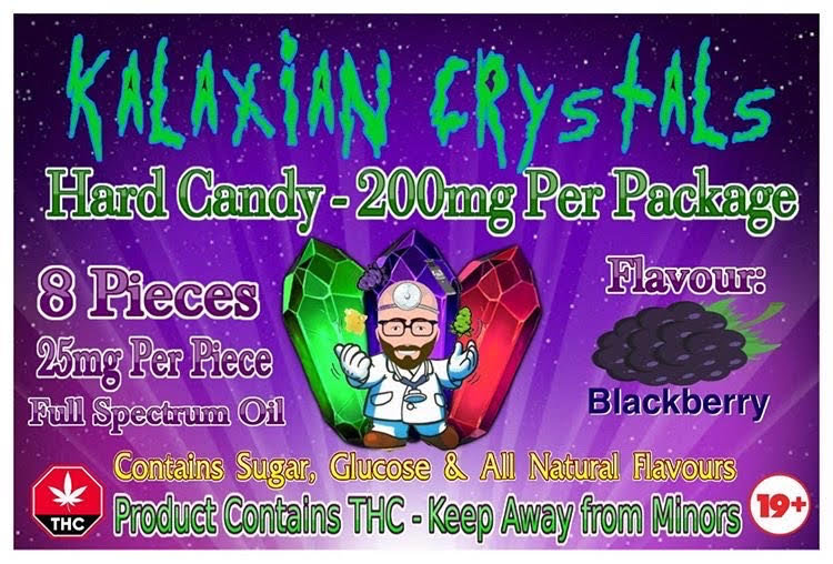 Blackberry Kalaxian Crystals Hard Candy