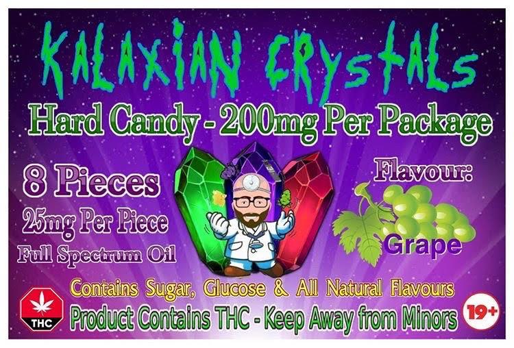 Grape Kalaxian Crystals Hard Candy