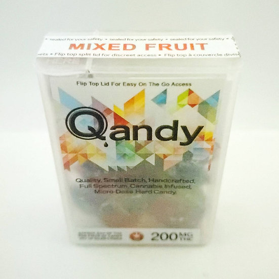 Qandy 200mg THC Mixed Fruit